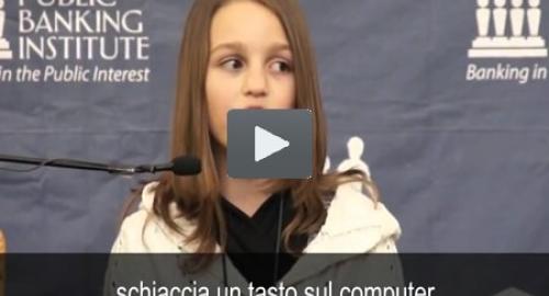 """Bambina di 12 anni spiazza tutti e spiega come funziona il """"debito truffa"""" [Video]"""